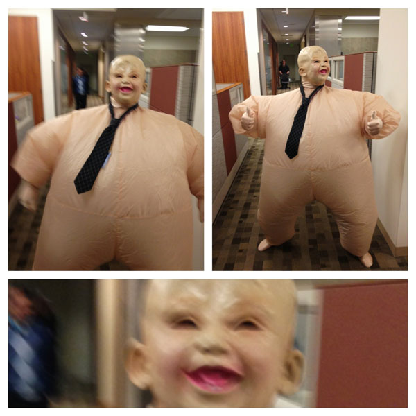 creepy blow up costume The 40 Best Halloween Costumes of 2012