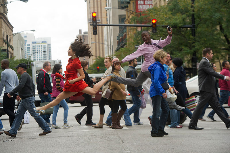 dancers among us in chicago angela dice and demetrius mcclendon The Dancers Among Us [21 Pics]