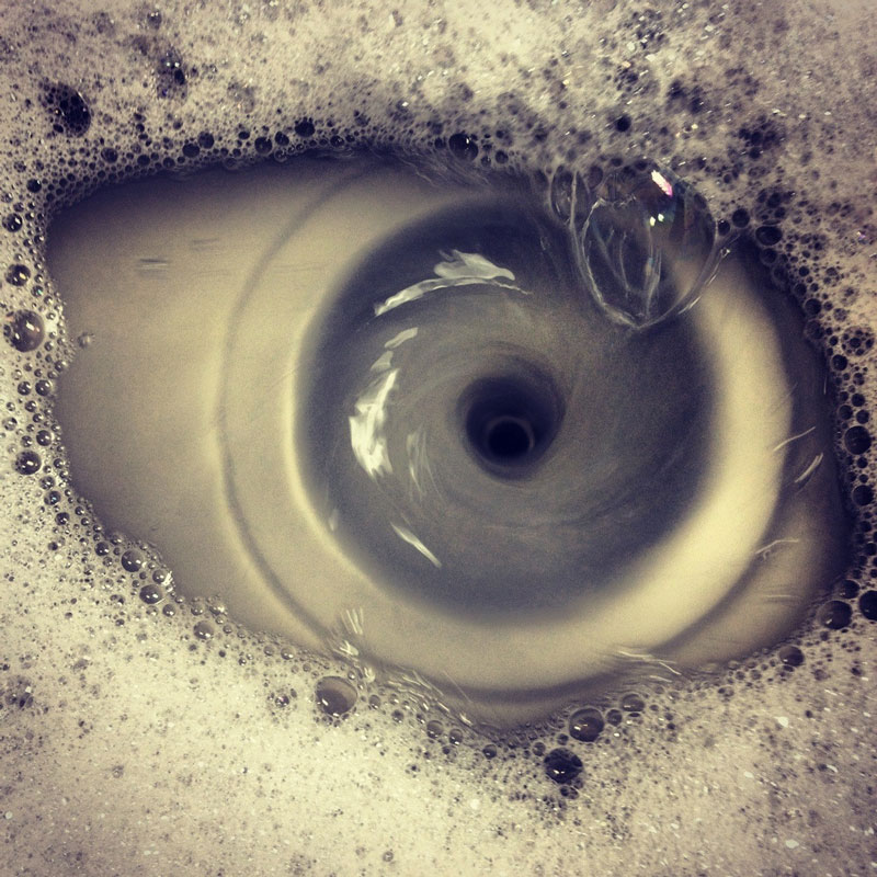 eye of the drain sink The Top 100 Pictures of the Day for 2012