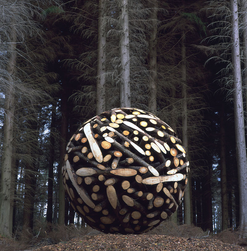 giant wooden spheres lee jae hyo sculptures 1 The Art of Rock Balancing by Michael Grab