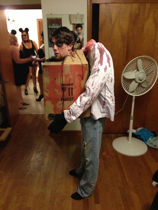 head in a box halloween costume The 40 Best Halloween Costumes of 2012