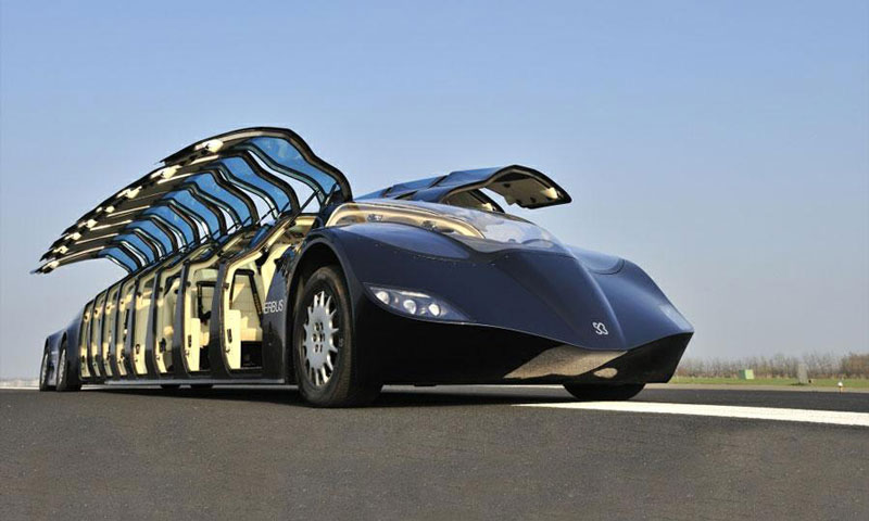 high speed superbus concept vehicle netherlands 13 High Speed Superbus Aims to Disrupt Personal Transport Industry