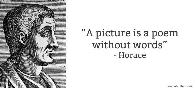 horace picture is poem without words 10 Famous Quotes About Art