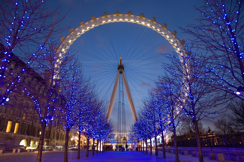 london eye twilight Picture of the Day: London Twilight