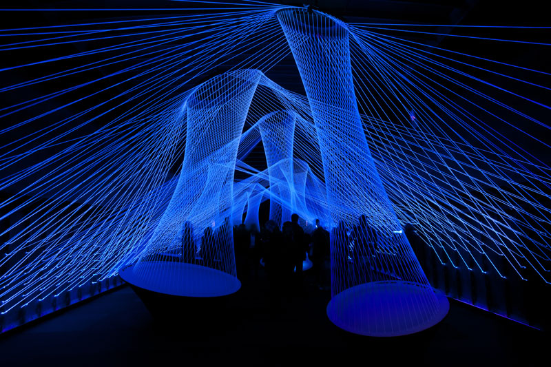 luminale 2012 resonate frankfurt Picture of the Day: The Resonate Light Installation at Luminale
