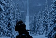 Picture of the Day: Snowmobiling the Norway-Sweden Border