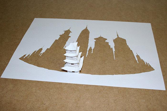papercraft art from one sheet of paper peter callesen 15 20 Sculptures Cut from a Single Piece of Paper