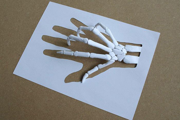 papercraft art from one sheet of paper peter callesen 18 20 Sculptures Cut from a Single Piece of Paper