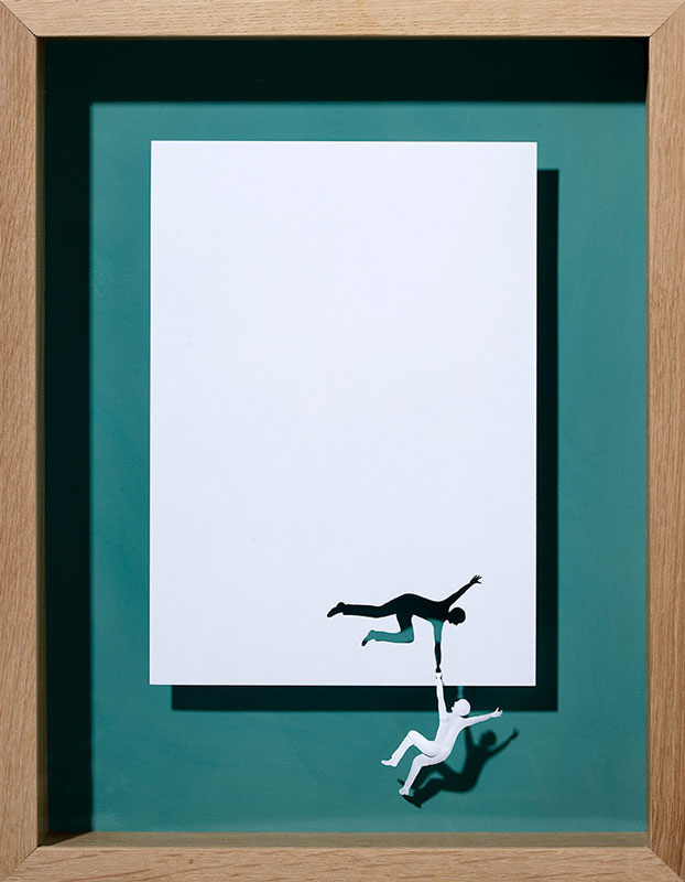 papercraft art from one sheet of paper peter callesen 19 20 Sculptures Cut from a Single Piece of Paper