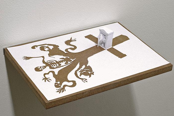 papercraft art from one sheet of paper peter callesen 2 20 Sculptures Cut from a Single Piece of Paper