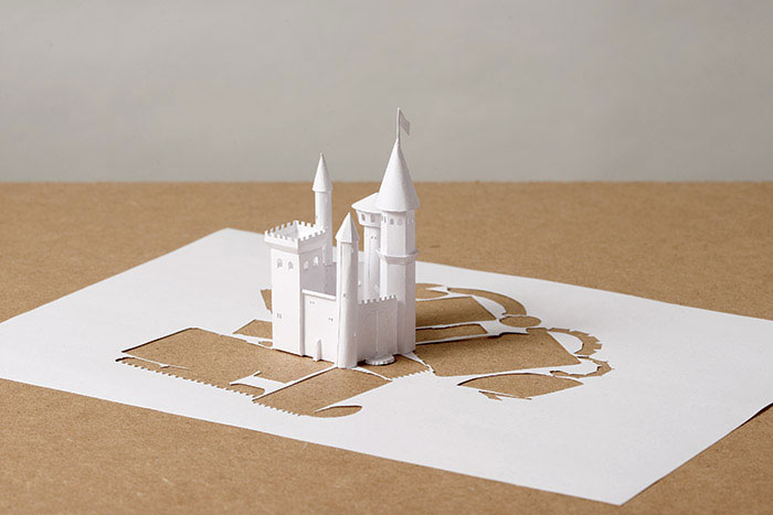 papercraft art from one sheet of paper peter callesen 7 20 Sculptures Cut from a Single Piece of Paper