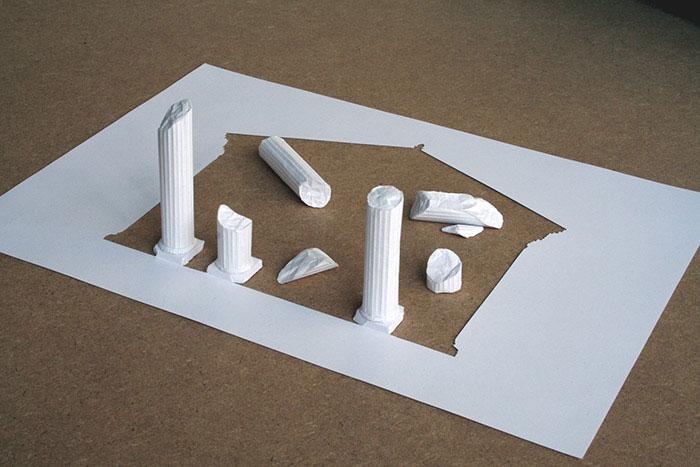 papercraft art from one sheet of paper peter callesen 9 20 Sculptures Cut from a Single Piece of Paper
