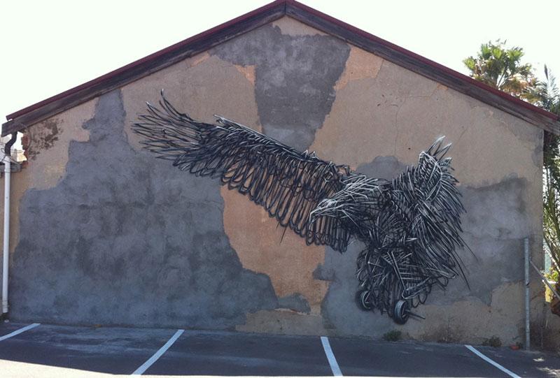 parkinge Twisted Metal Street Art Murals by DALeast