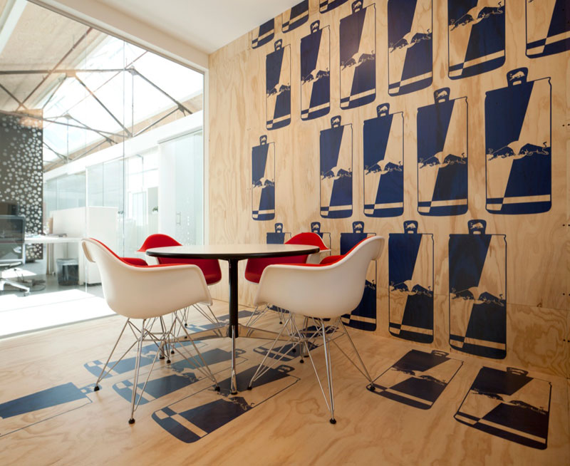 red bull office amsterdam netherlands sid lee architecture 13 Red Bull Amsterdams Shipping Yard Office [25 pics]