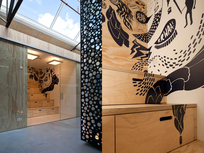 red bull office amsterdam netherlands sid lee architecture 25 Red Bull Amsterdams Shipping Yard Office [25 pics]