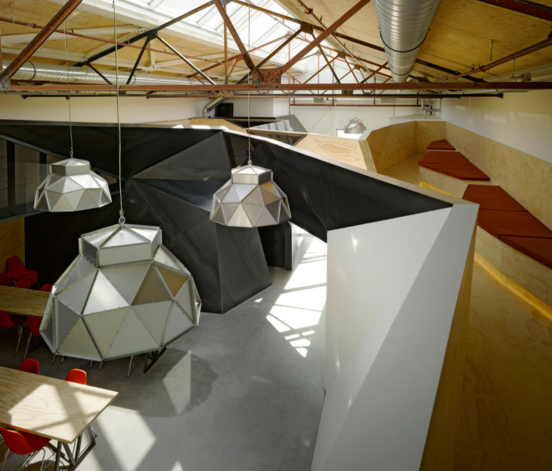 red bull office amsterdam netherlands sid lee architecture 5 Red Bull Amsterdams Shipping Yard Office [25 pics]