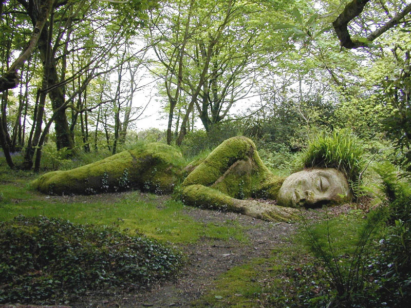 sleeping goddess mud maid woodland walk lost gardens of heligan england1 The Top 100 Pictures of the Day for 2012