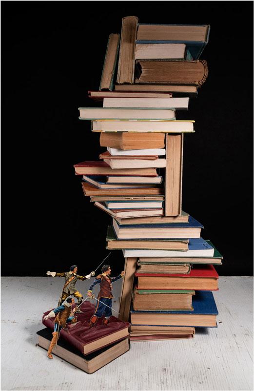 thomas allen book art 12 Brilliant Book Art by Thomas Allen