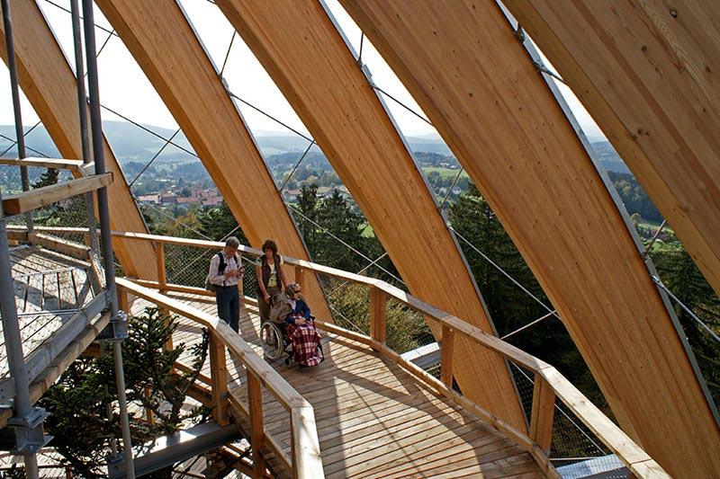 worlds longest tree top walk bavarian forest national park baumwipfelpfad 17 The Longest Tree Top Walk in the World