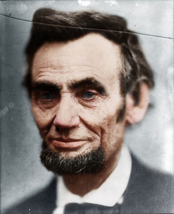 abraham lincoln colorized Adding Color to Historic Photos [20 pics]