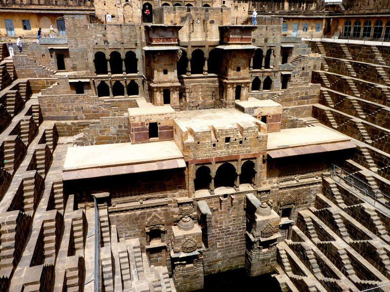 chand baori stepwell in india The Famous Chand Baori Stepwell in India