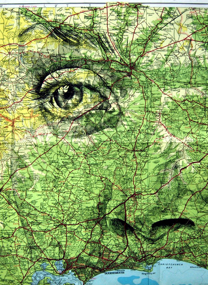 faces drawn onto maps by ed fairburn (4)