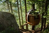 The HemLoft: A Secret Tree House in the Woods