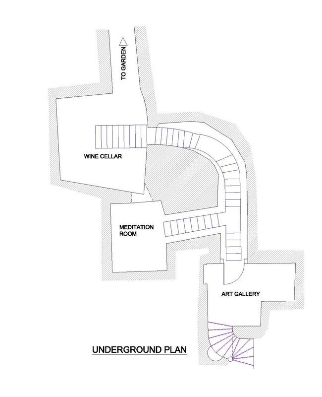 house with underground caverns domus civita studio f fradiani italy (17)