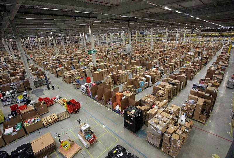 inside amazons chaotic storage warehouses 3 Inside Facebooks Data Center Near the Arctic Circle