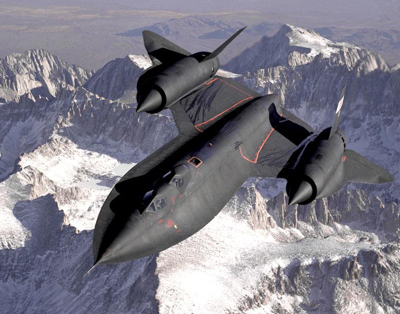 lockheed sr 71 blackbird fastest plane in the world 6 The Largest Airplane Ever Built
