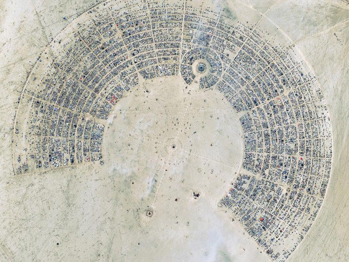 Nevada-8-28-12-Burning-Man-festival digitalglobe satellite image