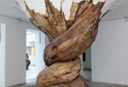 Organic Wooden Sculptures by Henrique Oliveira