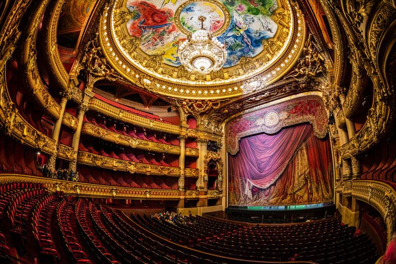 palais garnier opera house paris france Picture of the Day: Inside Palais Garnier