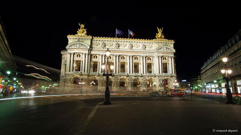 place de l'opera at night paris in motion mayeul akpovi (11)