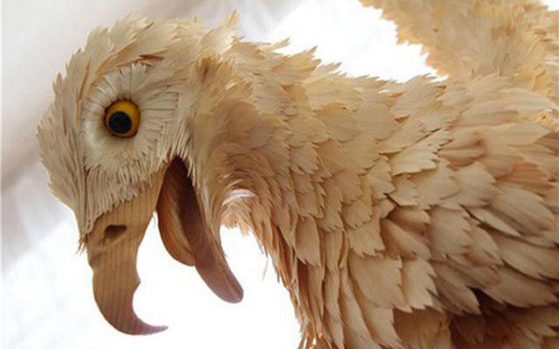 wood-chip animal sculptures by sergei bobkov (7)