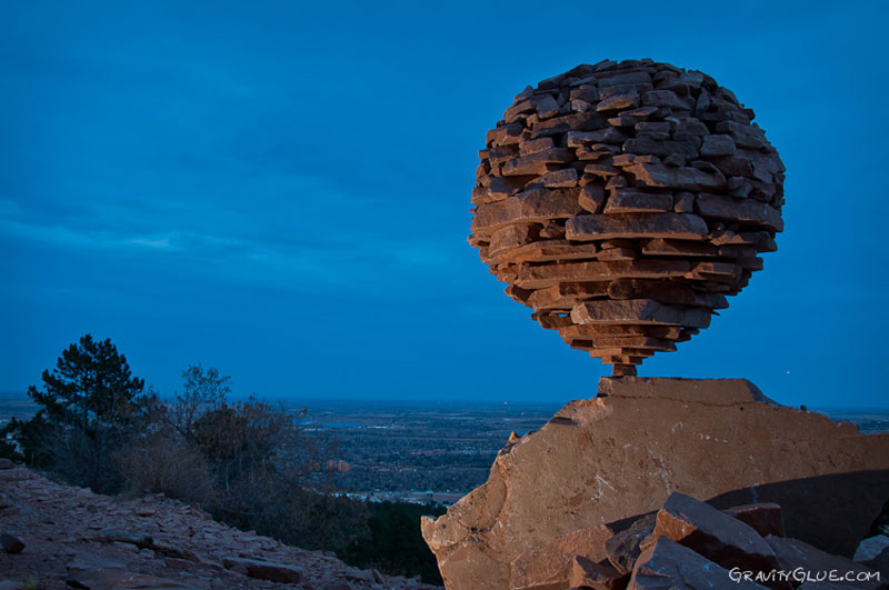 art of rock balancing by michael grab gravity glue 13 The Dry Stone Tree Wall that Love Built