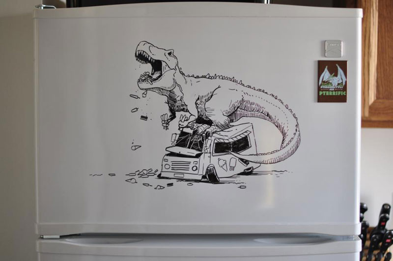 fridge drawings charlie layton freezer fridays (13)