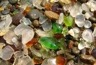 The Glass Beach in California