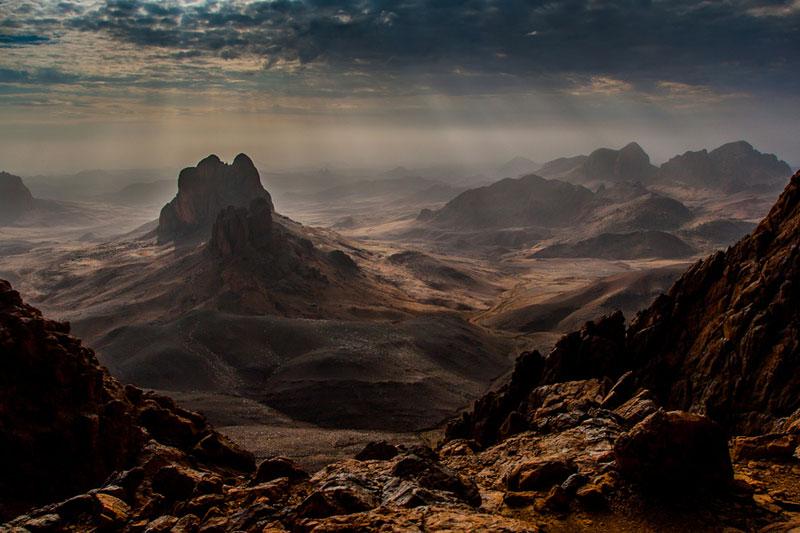 hoggar ahaggar mountains algeria Picture of the Day: The Hoggar Mountains of Algeria