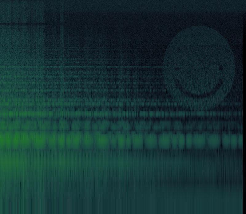 memory-fez-soundtrack-hidden-secret-image-embedded in music spectrograpm