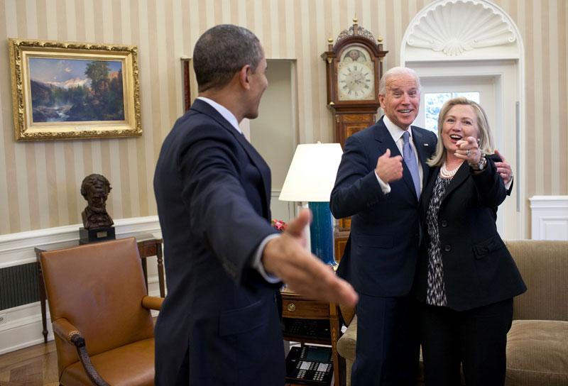 obama biden clinton oval office