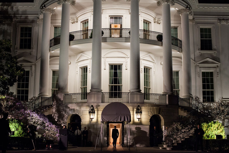 A Year in the Life of a White House Photographer