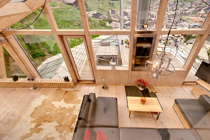 penthouse chalet in zermatt switzerland by heinz julen (10)