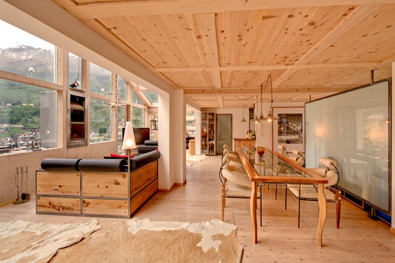 penthouse chalet in zermatt switzerland by heinz julen (11)