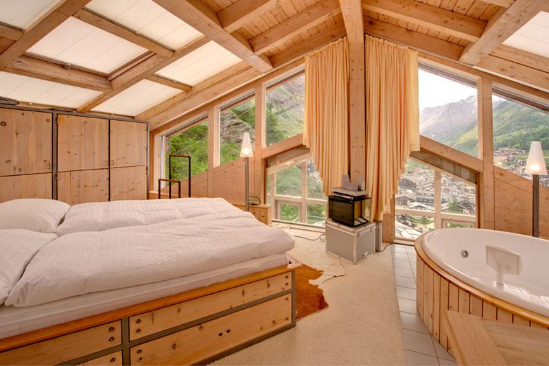 penthouse chalet in zermatt switzerland by heinz julen (2)