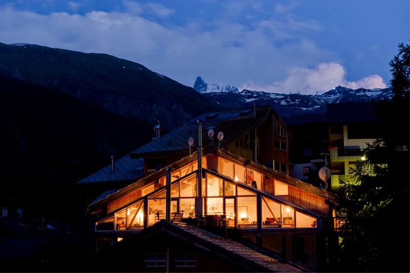 penthouse chalet in zermatt switzerland by heinz julen (7)