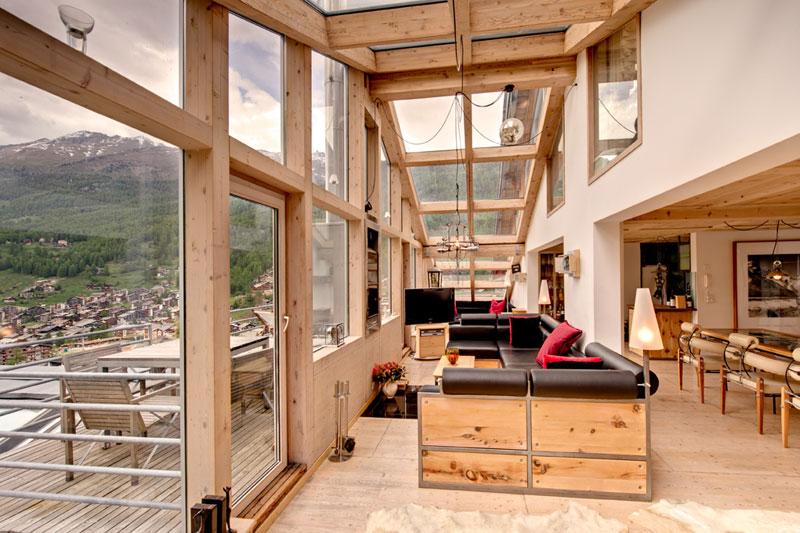 penthouse chalet in zermatt switzerland by heinz julen (9)