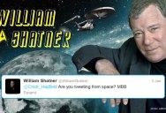 How an Astronaut met Star Trek Alumni from Space