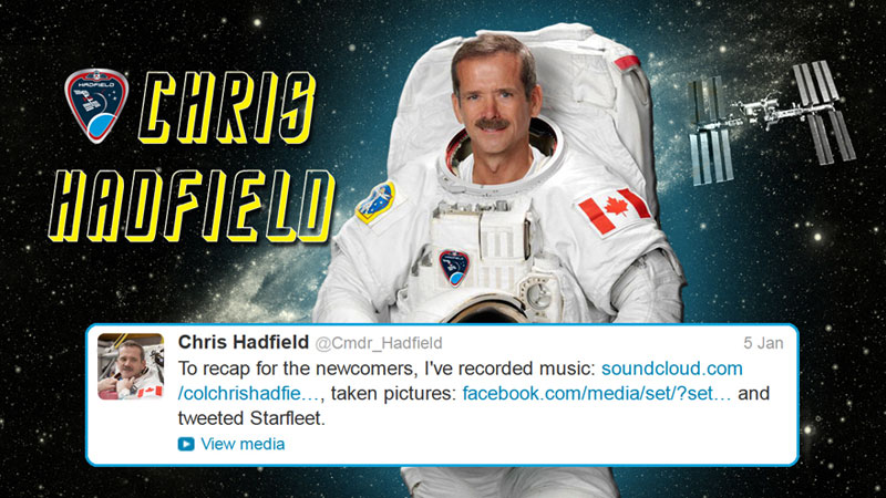 canadian astronaut chris hadfield tweets with star trek crew from space (16)