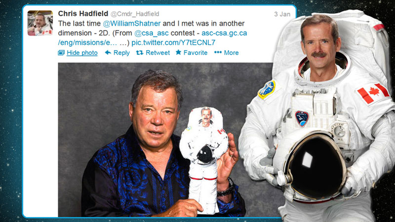 canadian astronaut chris hadfield tweets with star trek crew from space (4)